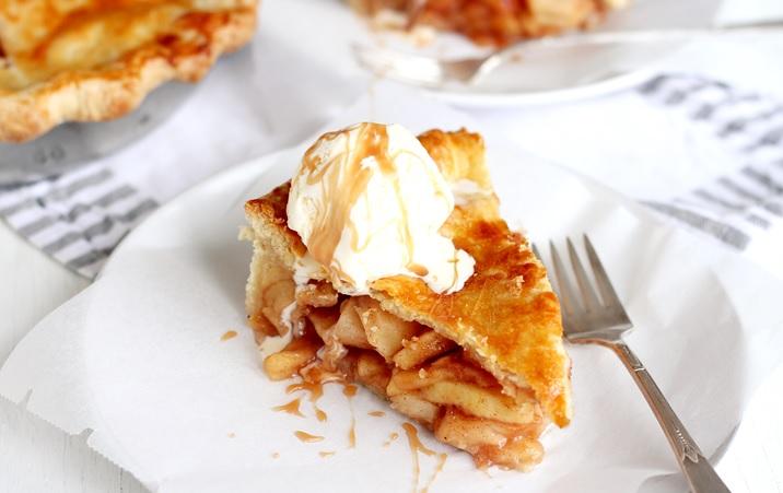 Klassischer American Apple Pie Rezept