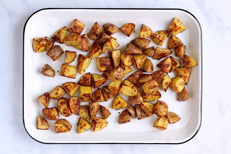 Knusprige Bratkartoffeln Rezept Backofen
