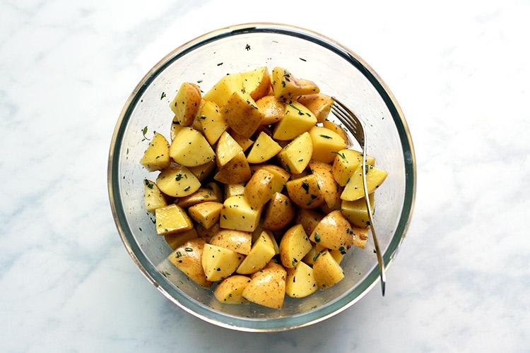 Knusprige Bratkartoffeln Rezept