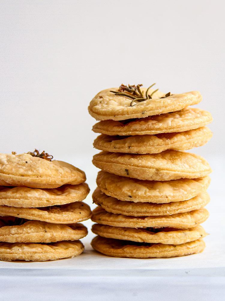 Kräuter Cracker Rezept Mürbteig
