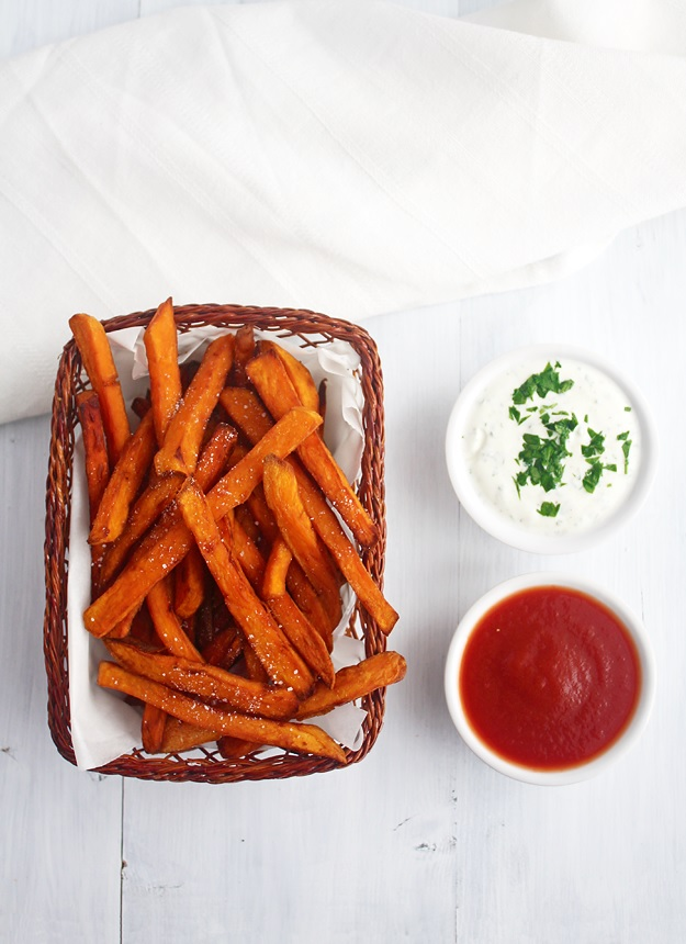 Sweet Potato Pommes