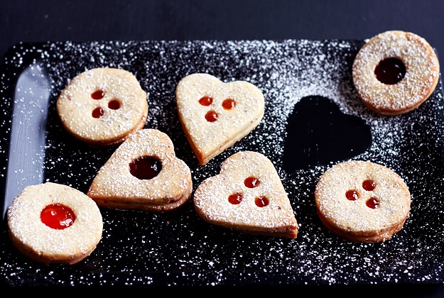 Linzer Augen oder Linzer Kekse bestes Rezept