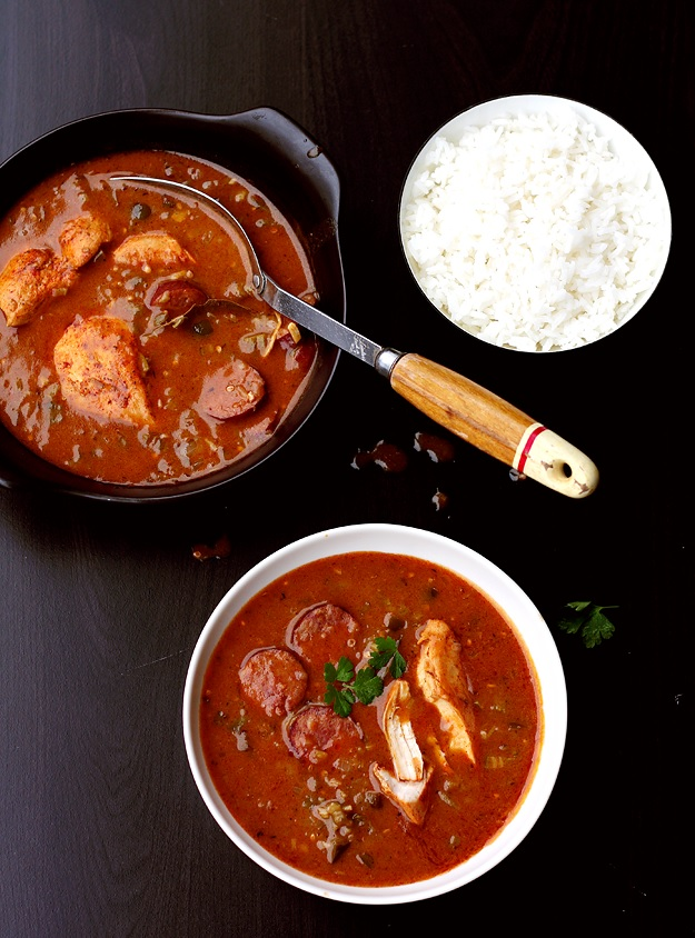 Lousiana Chicken and Sausage Gumbo Rezept