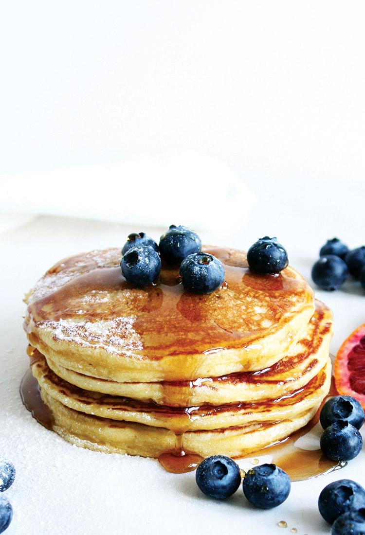 Luftige Buttermilk Pancakes Rezept
