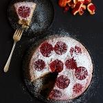 Mandel-Blutorangen Kuchen