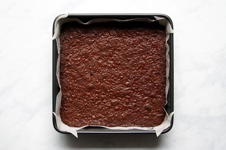 Mohn Brownies mit Schokolade
