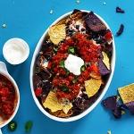 Nachos mit selbstgemachter Salsa