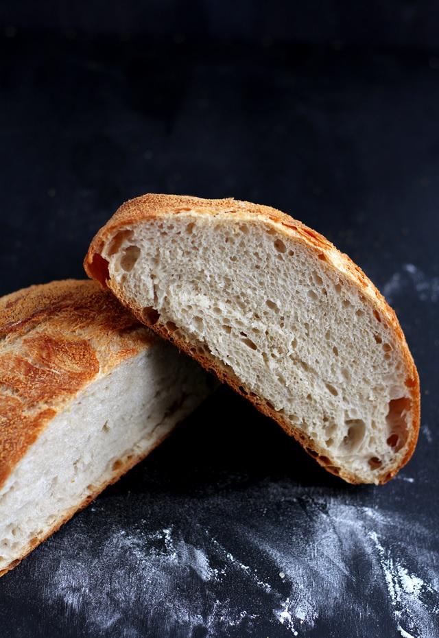 No Knead Bread Topfbrot