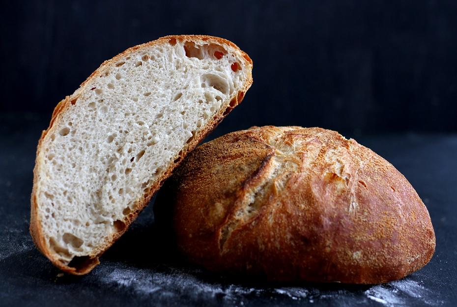 No Knead Brot Topfbrot