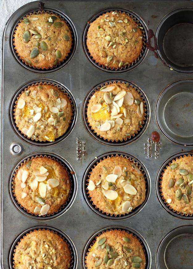 Orangen Mandel Muffins