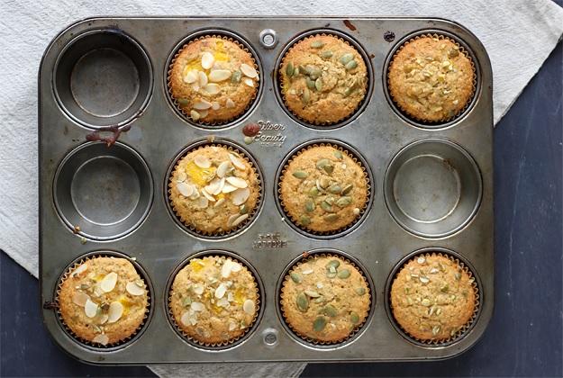 Orangen Muffins - Rezept