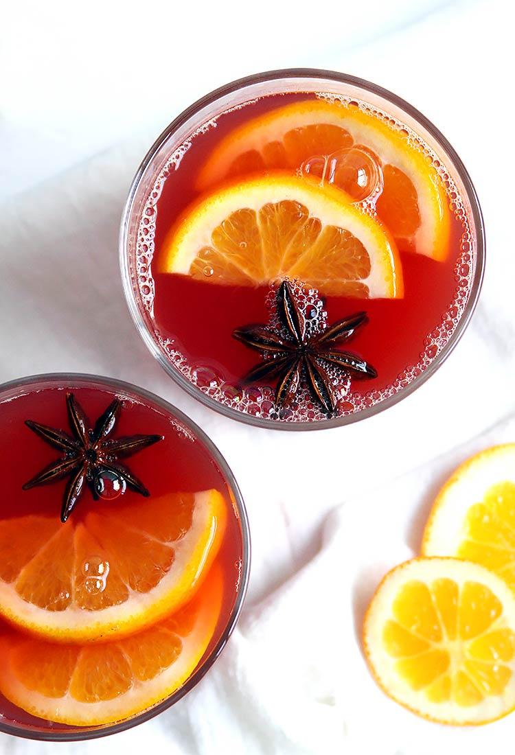 Orangenpunsch Rezept mit Rum