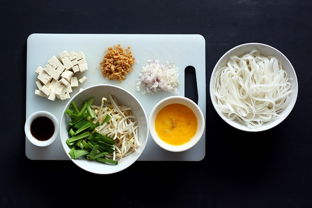 Zutaten für Pad Thai