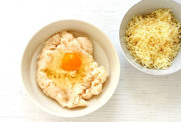Pao de queijo Teig Rezept