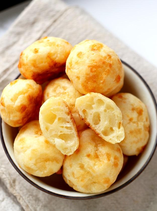 Rezept für Pao de queso Brasilianische Käsebällchen