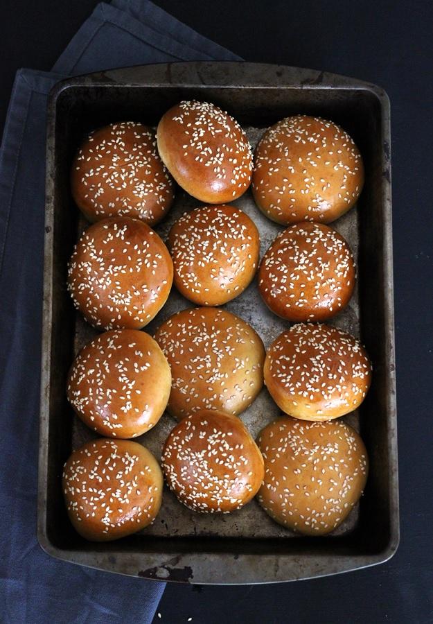 Perfekte Burger Brote