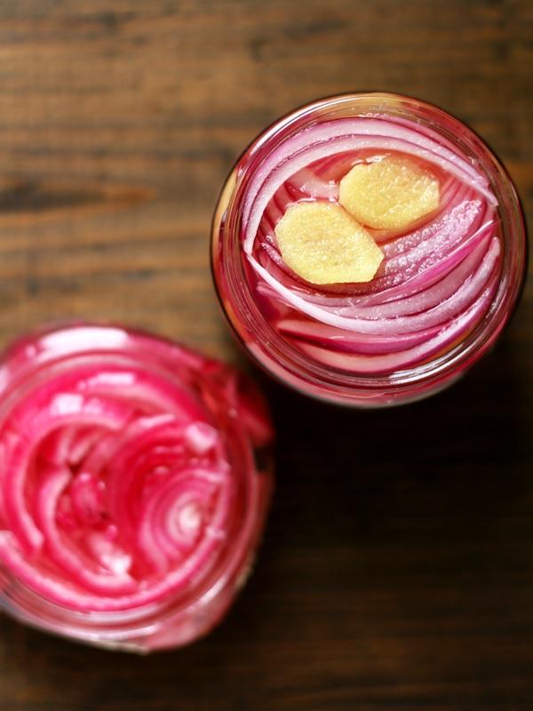 Pickled Onions - Eingelegte Zwiebeln Mexico