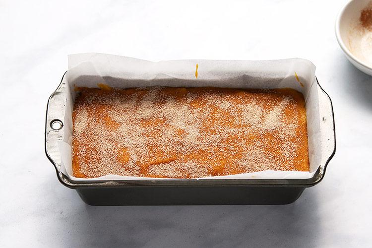 Pumpkin Bread Kürbiskuchen Rezept Kastenform