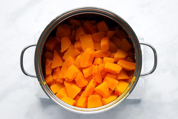 Pumpkin Bread Kuerbiskuchen Rezept