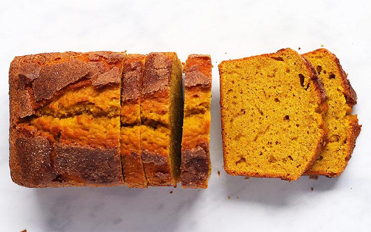 Pumpkin Bread Rezept