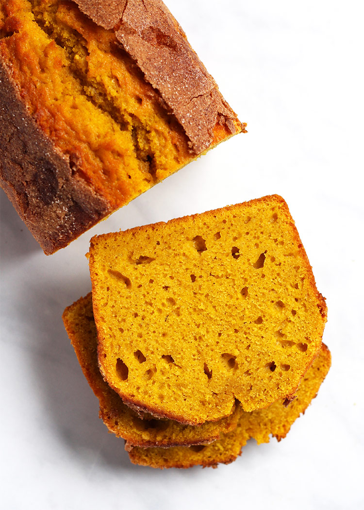 Pumpkin Bread saftiger Kürbiskuchen Rezept