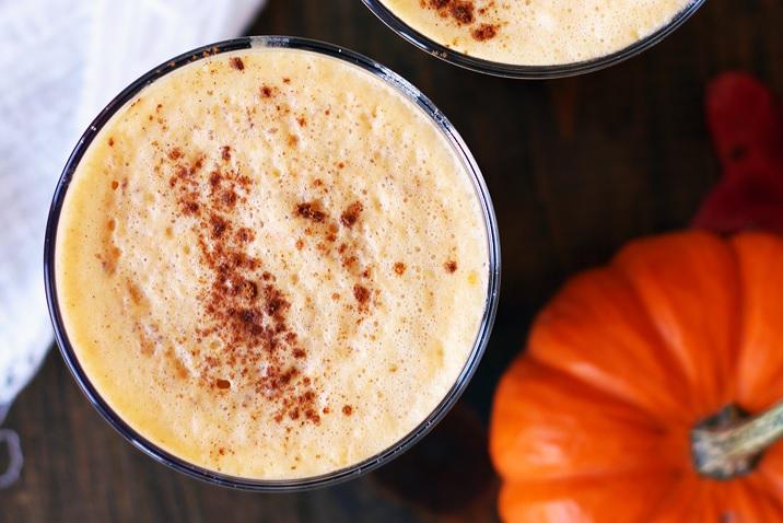 Pumpkin Spice Latte Rezept wenig Zucker