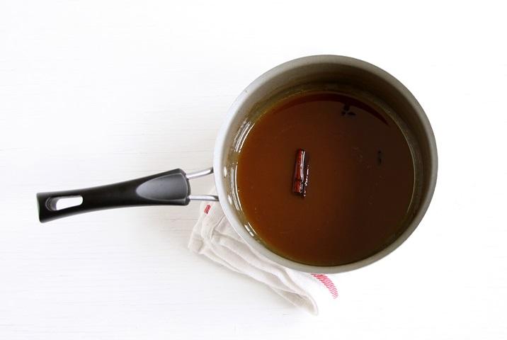 Reduzierter Apfelsaft für Cider Caramels