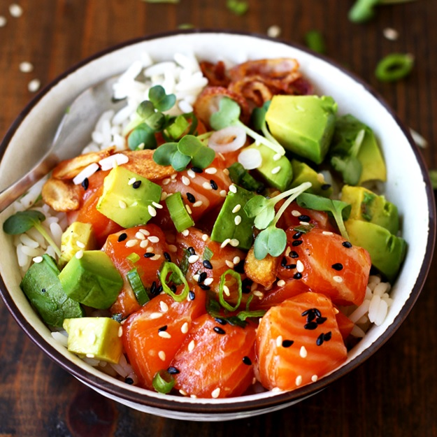 Image result for poke bowl