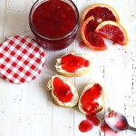 Blutorangen Marmelade mit Aperol