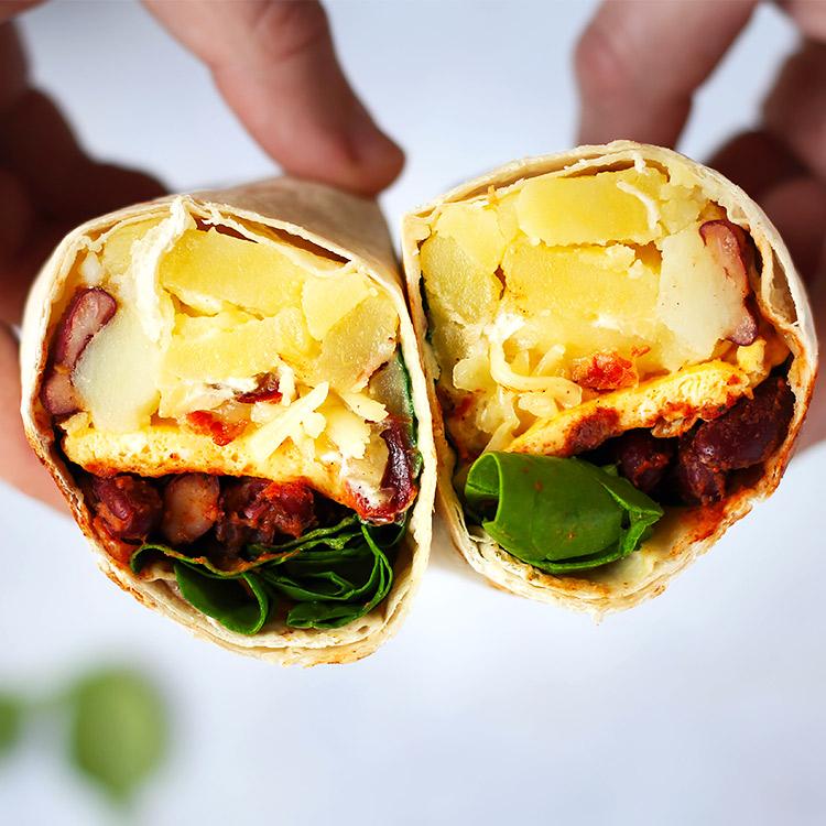 Rezept Breakfast Burrito