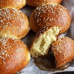 Brioche Burger-Brötchen
