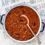 Faschiertes (Rinderhack) für Chili con Carne