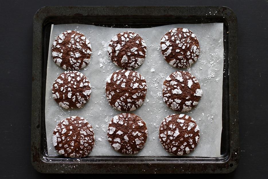 Rezept Chocolate Crinkle Cookies