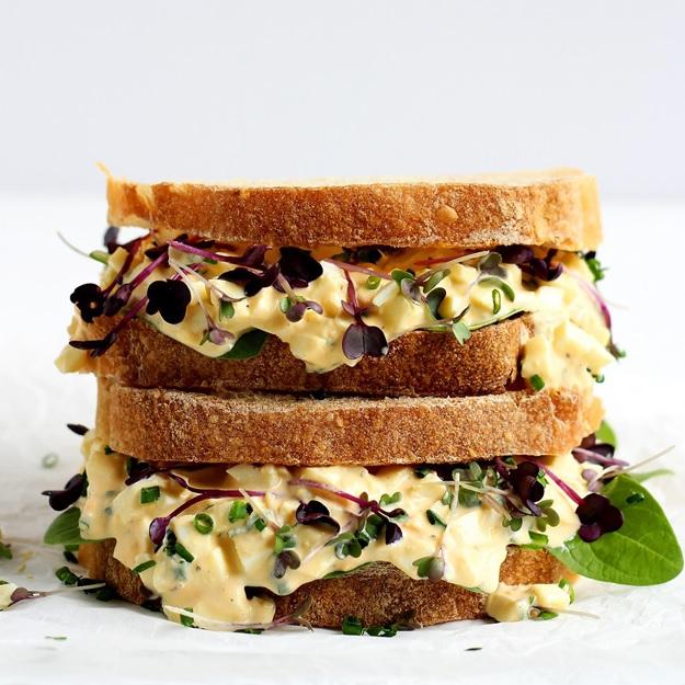Rezept Egg Sandwich mit Sprossen
