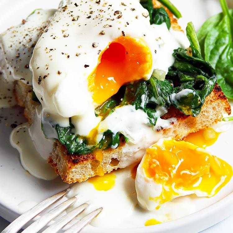 Eggs Florentine – mit der perfekten Sauce