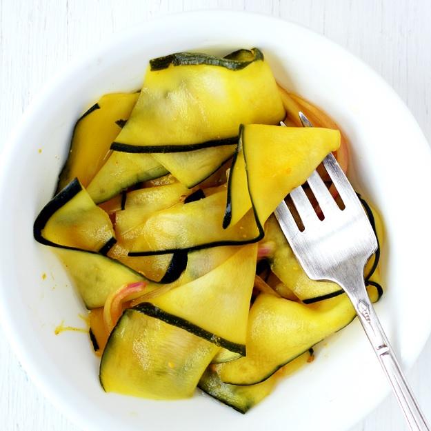 Zucchini Pickles – Schnell eingelegte Zucchini
