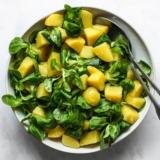 Rezept Erdäpfel Vogerl Salat