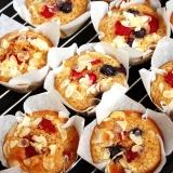 Einfaches Rezept Muffins mit Früchten