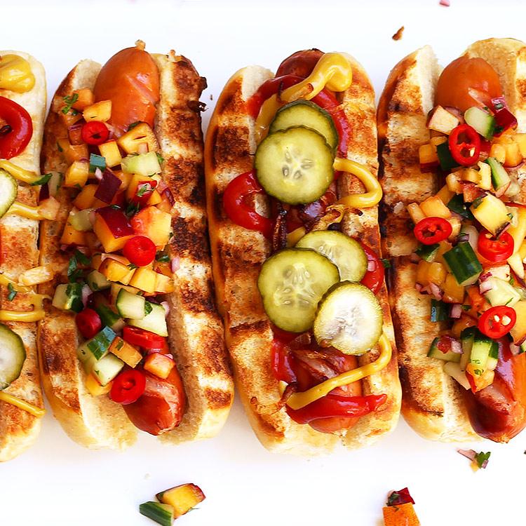 Hot Dogs - die Gourmet Variante