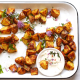 Rezept Knusprige Bratkartoffeln aus dem Backofen