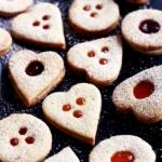 Einfache Linzer Kekse