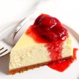 Rezept New York Cheesecake mit Erdbeersauce