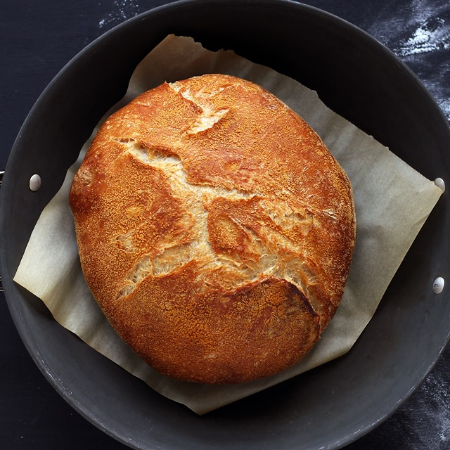 No-knead Bread – Topfbrot