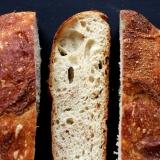Rezept No-knead Sauerteigbrot