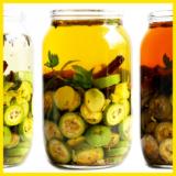 Rezept Nussschnaps ansetzen mit grünen Nüssen