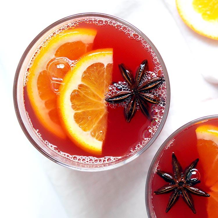 Klassischer Orangenpunsch