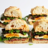 Rezept Picknick Sandwich Prosciutto Ei Spinat
