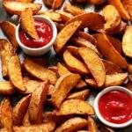 Knusprige Potato Wedges aus dem Ofen