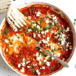 Shakshuka mit frischen Tomaten – mit Video