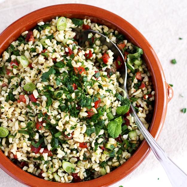 Taboulé – Bulgur-Salat mit Petersilie